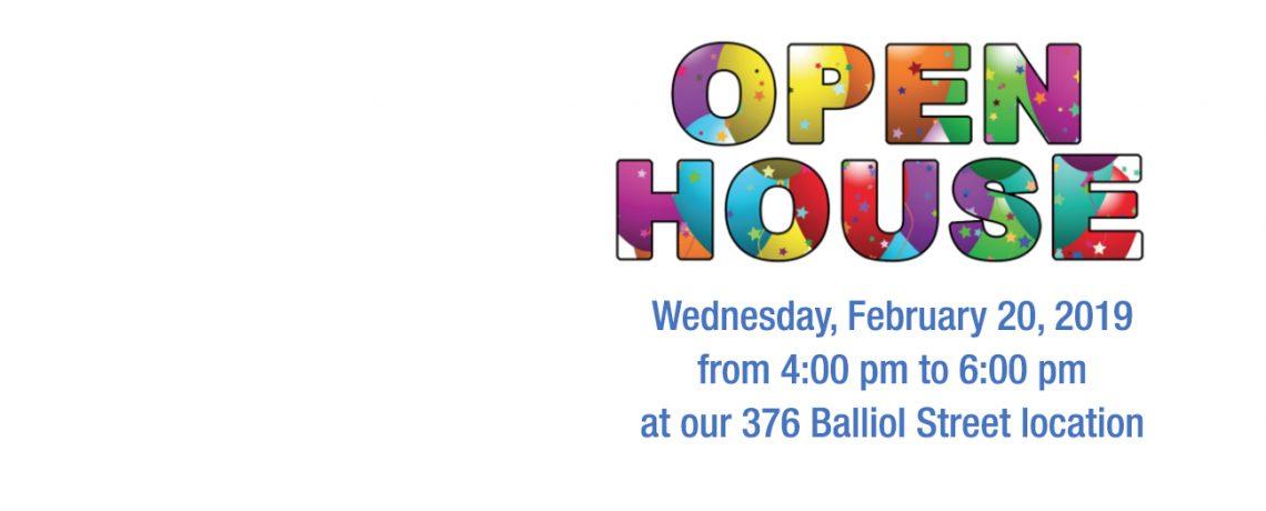 Open House February 20, 2019